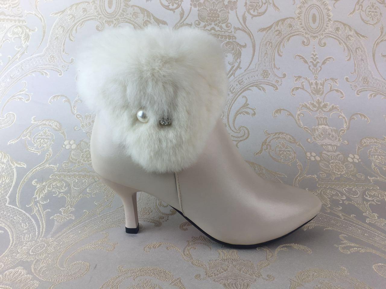 China Sexy White High Heel Women\