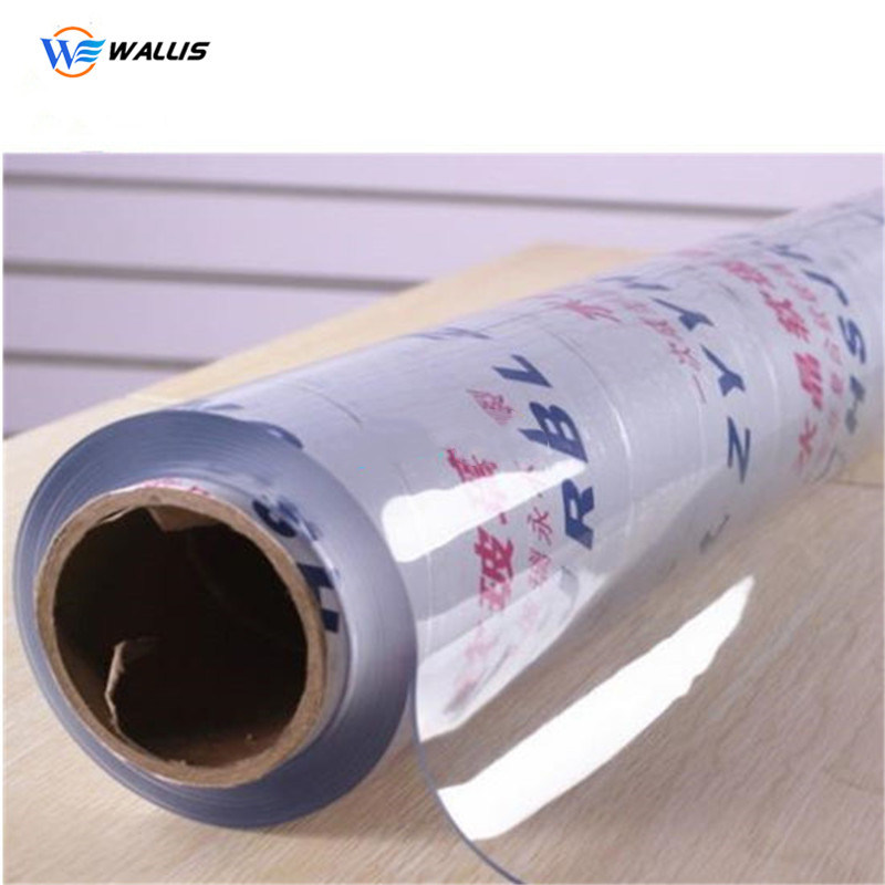 2mm Transparent Embossed PVC Plastic Soft Flexible Sheet in Roll for Waterproof Tablecloth, Clear PVC Film for Table Cover pictures & photos