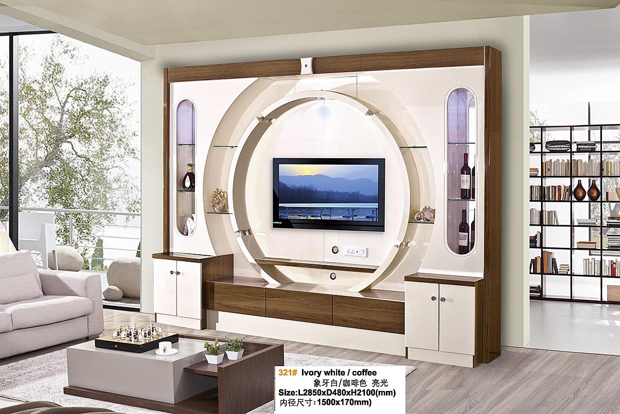 China Modern Design Living Room Furniture Hall Wooden Tv Cabinet Tv Stand Photos Pictures Made In China Com