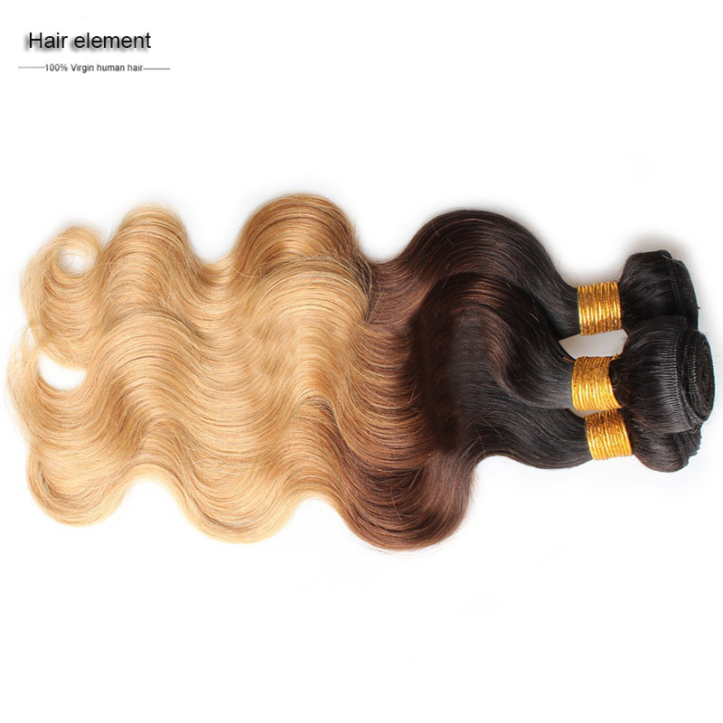 China Wholesale Weaving Hair Extension Body Wave Remy Virgin