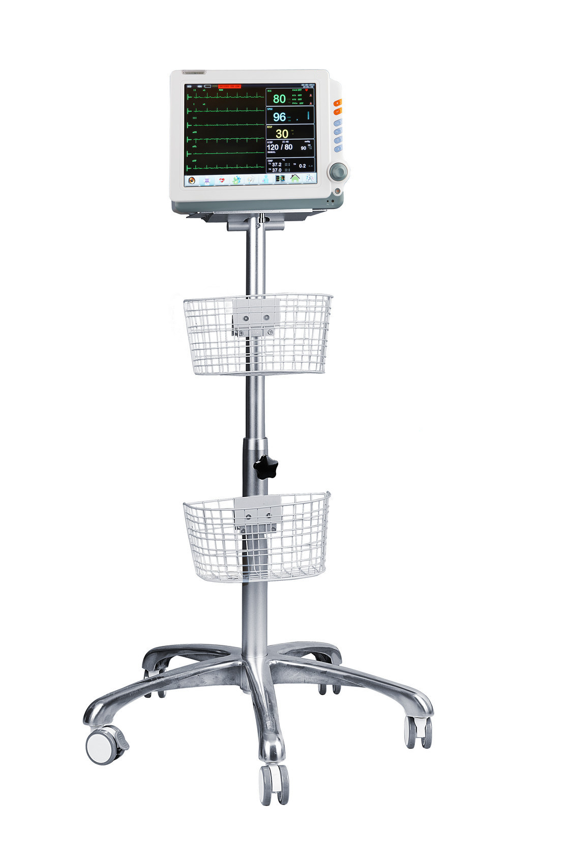 Med-Pm-9000c ECG 12 Inch Portable Patient Monitor Medical Equipment pictures & photos