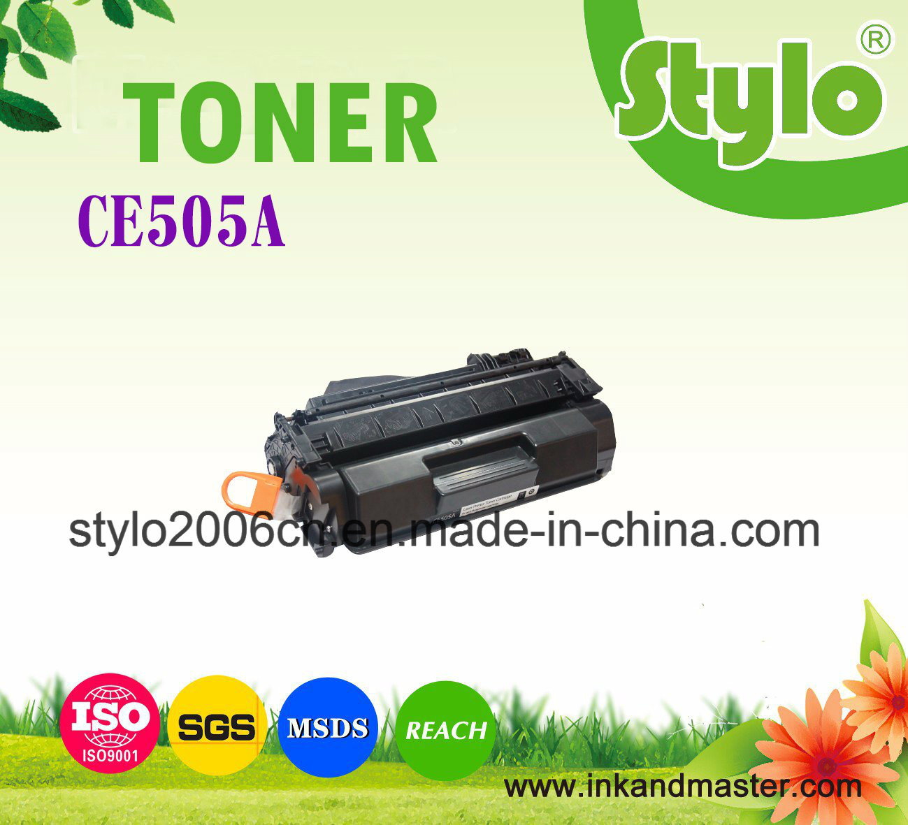 High Quality Directly Sale Black Ce505A Toner Cartridge for HP