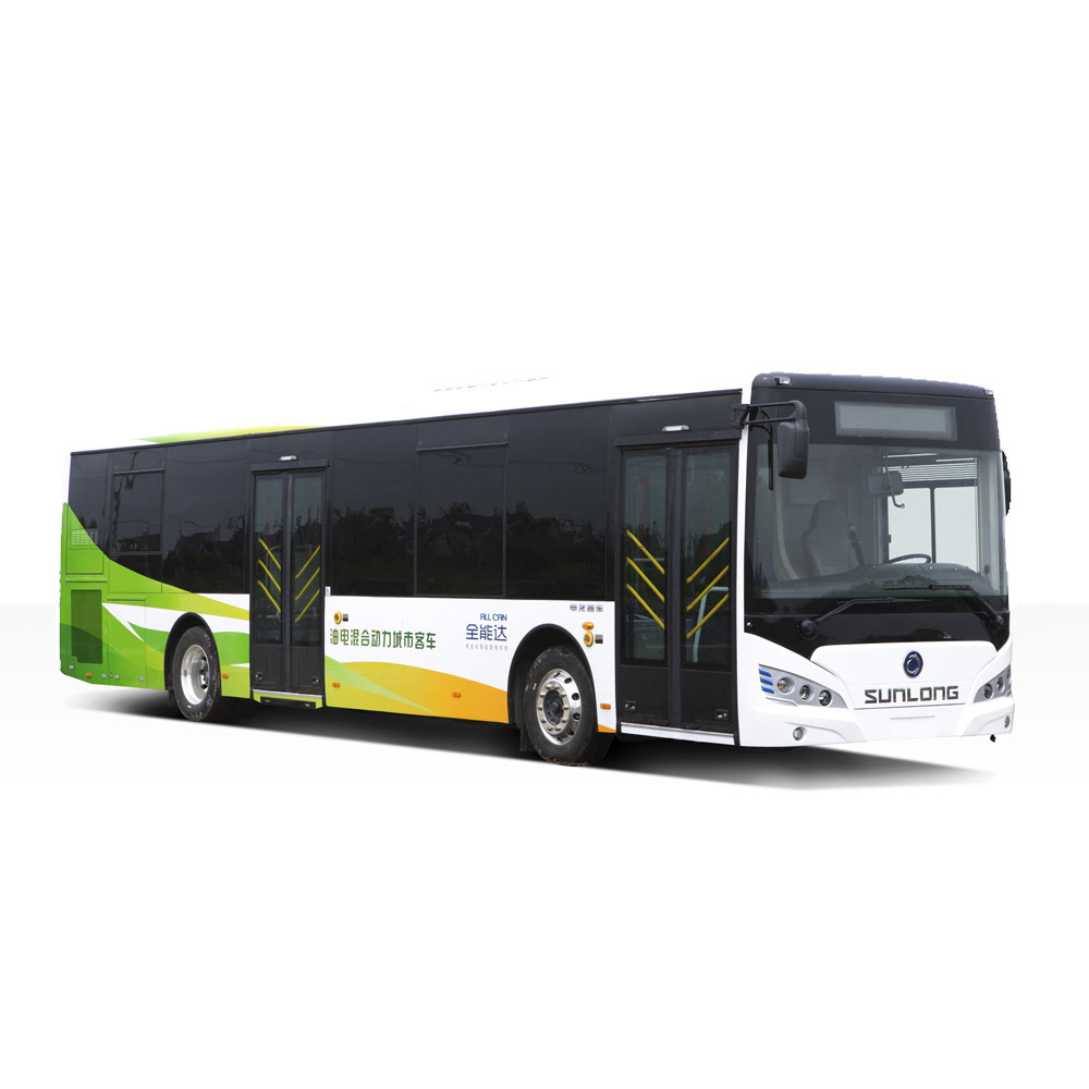Price of New Color Design Luxury Bus Sunlong Slk6129au6n Natural Gas City Bus