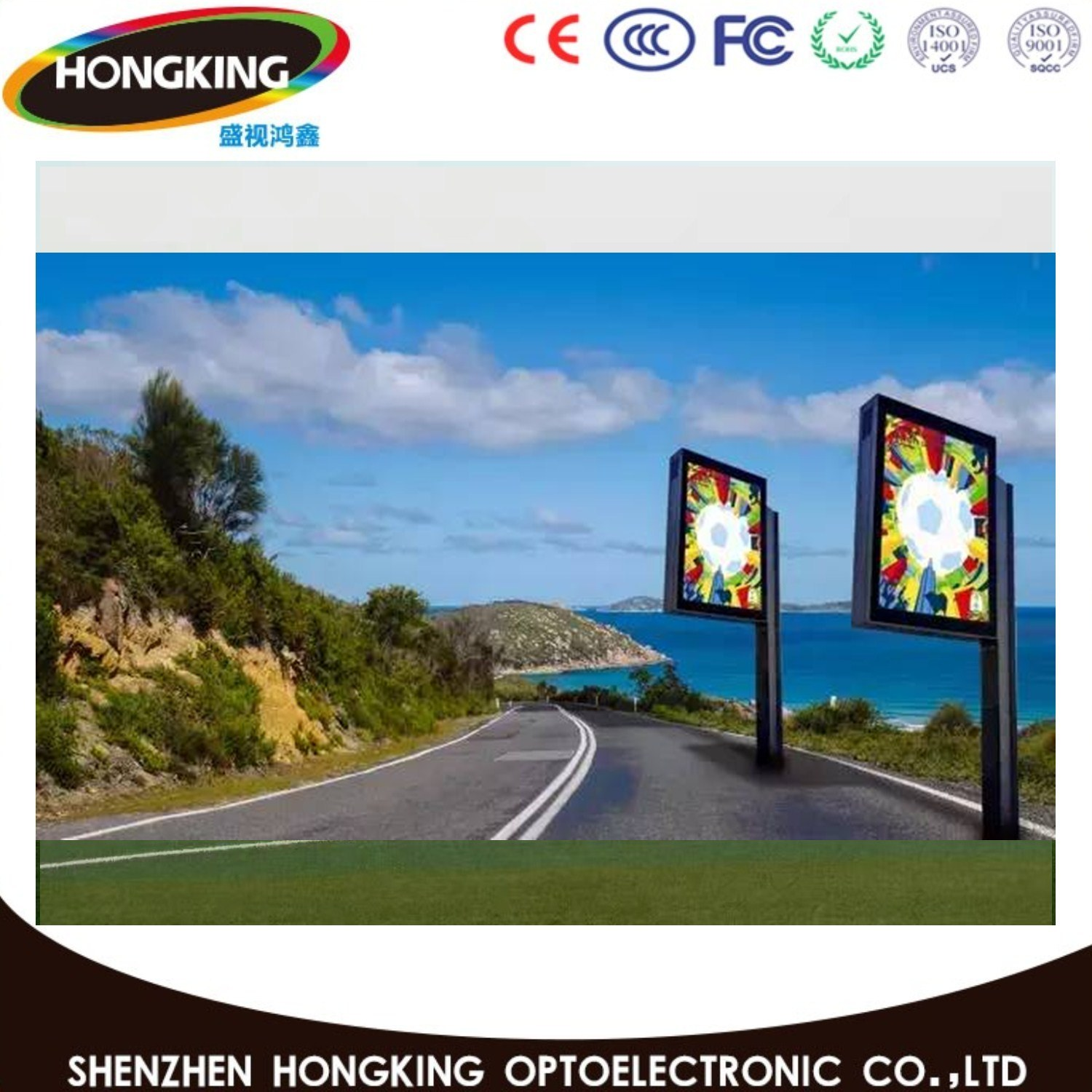 P10 SMD LED Module Outdoor Display Sign