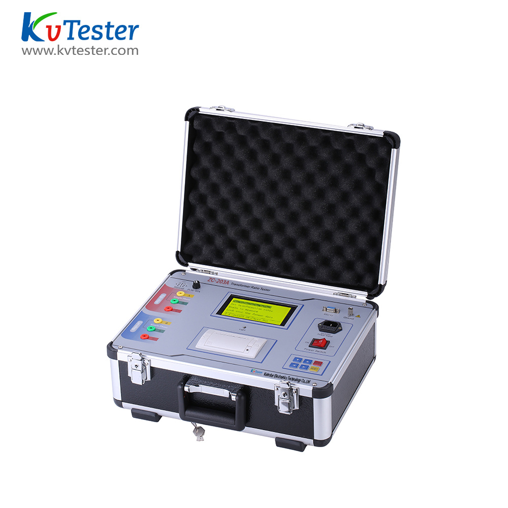 [Hot Item] Factory Supply Professional Transformer Turn Ratio Meter Kit TTR  Tester CT Turns Ratio Meter with Great Price