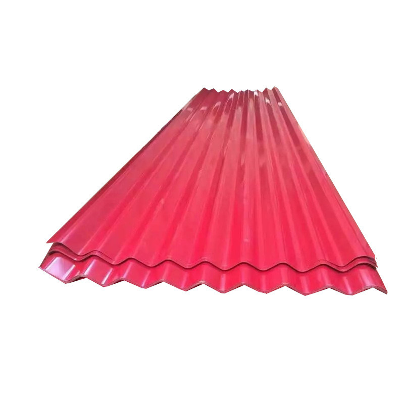 Color Prepainted Corrugated Steel Roofing Sheet for Roofing Material pictures & photos