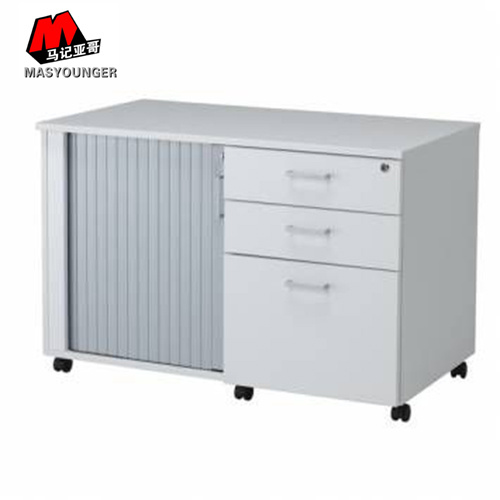 Caddy One PVC Door Three Metal Drawer Mobile Office Use Filing Storage Cabinet  sc 1 st  Luoyang Mas Younger Export and Import Company (Ltd.) & China Caddy One PVC Door Three Metal Drawer Mobile Office Use Filing ...