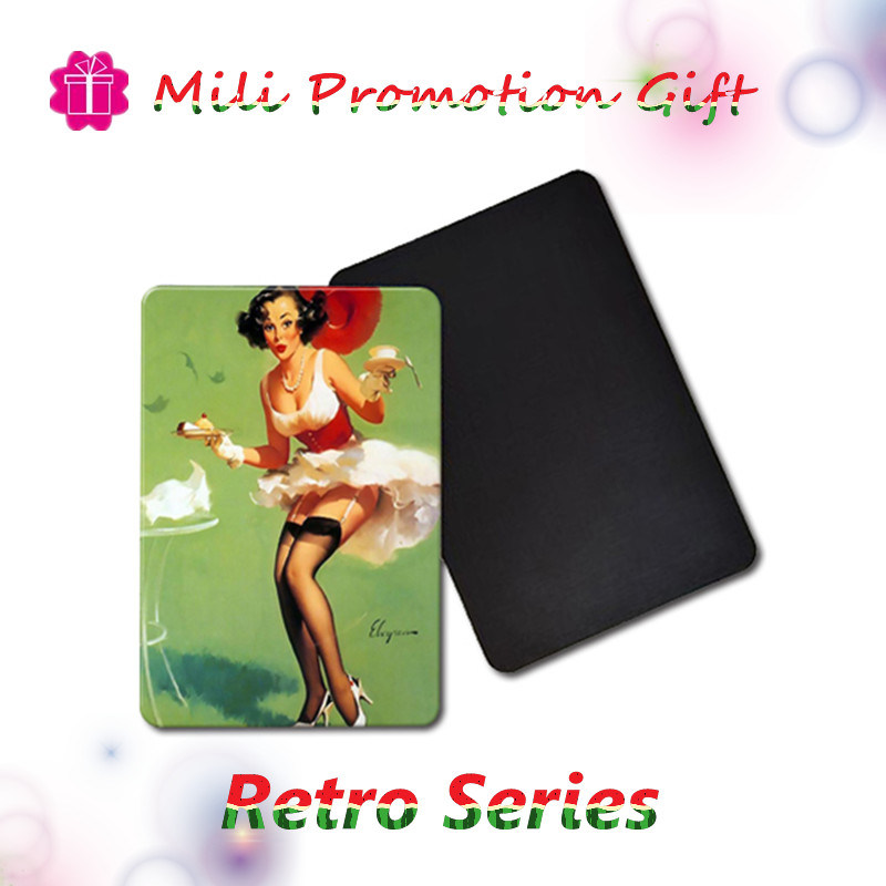 Retro Series Fridge Magnets Art Wall Decor Crafts