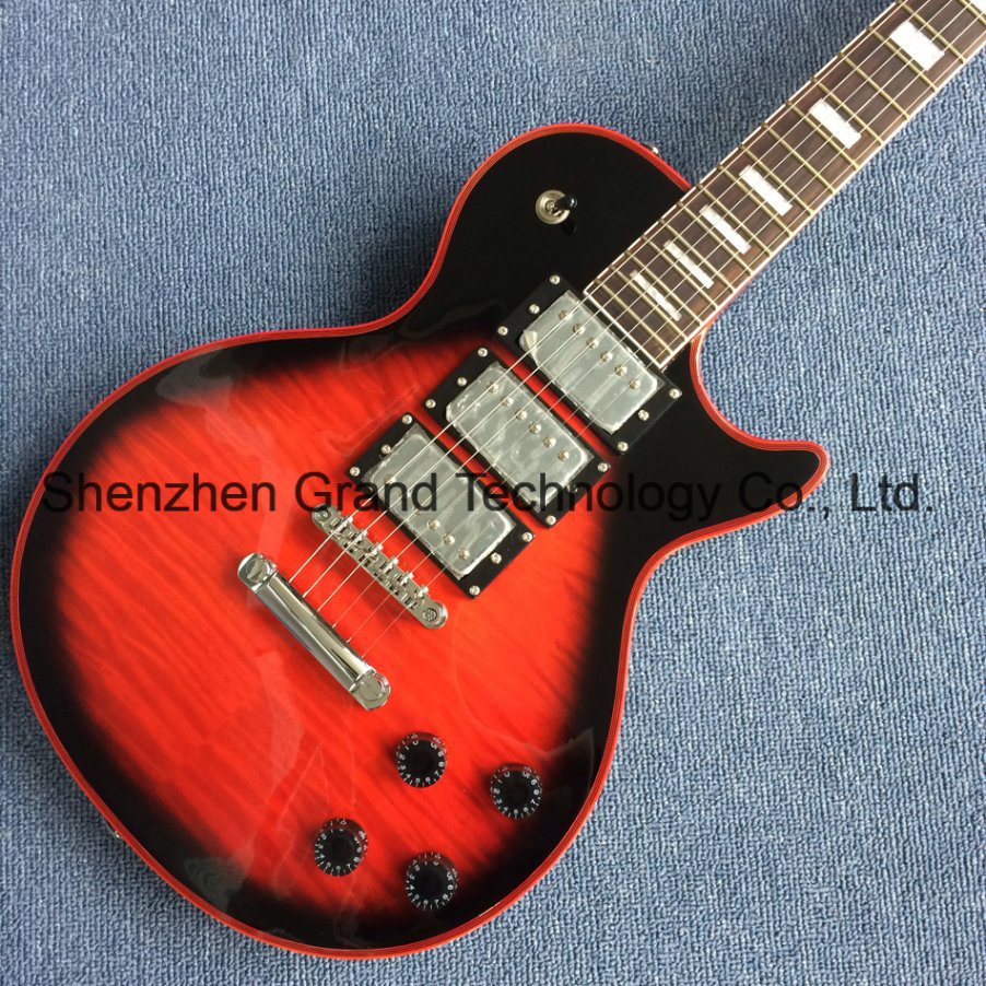 China DIY Lp Guitar Kits / Rosewood Fingerboard 3 Pickup Custom Lp ...