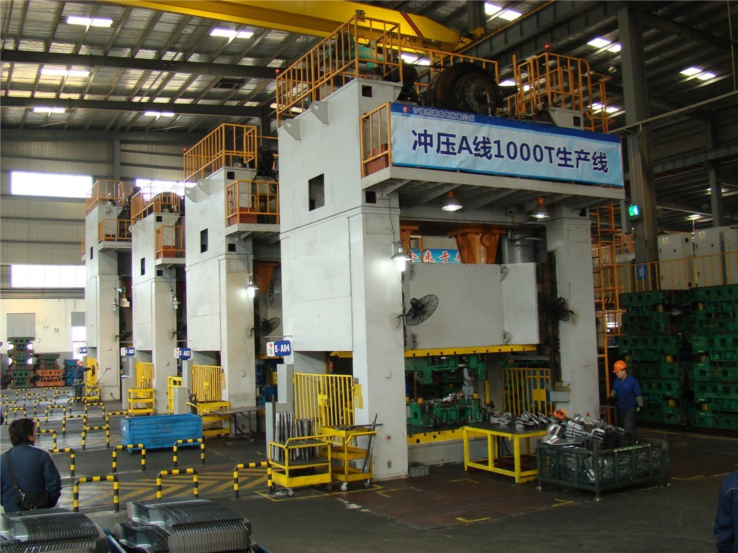 Jm36/Jmd36 Series Gantry Type Double Point Press Machine pictures & photos
