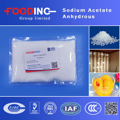 Sodium Acetate Anhydrous Price CH3coona for Industrial Grade CAS No: 127-09-3