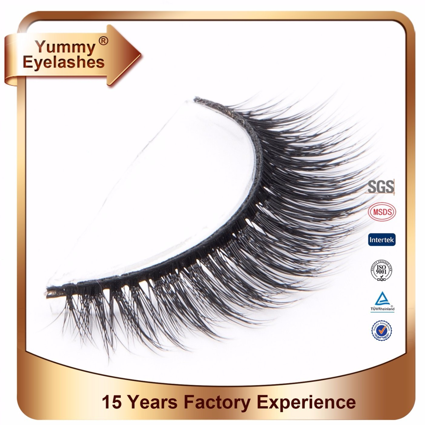 China Factory Wholesale Own Brand Logo 3d Mink Lash China