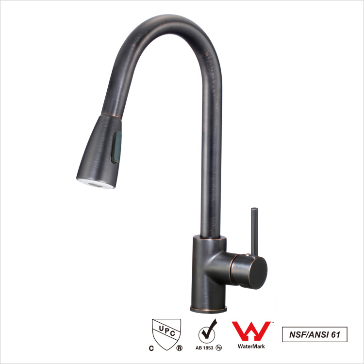 Bakue Commerce Co. Ltd. & [Hot Item] Orb Kitchen Sink Faucet Pull out Down Sprayer Mixer Taps