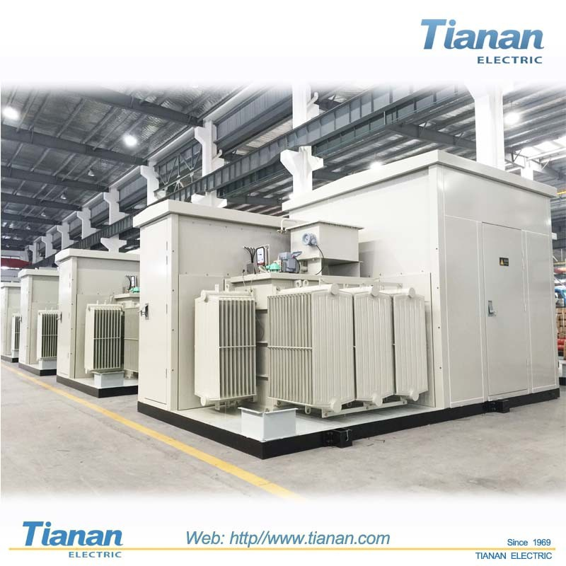 China Outdoor Yb Combined Prefabricated Substation