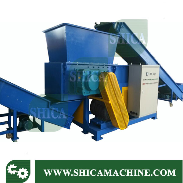 Single Shaft Crushing Machinery for Big Plastic Film Paper