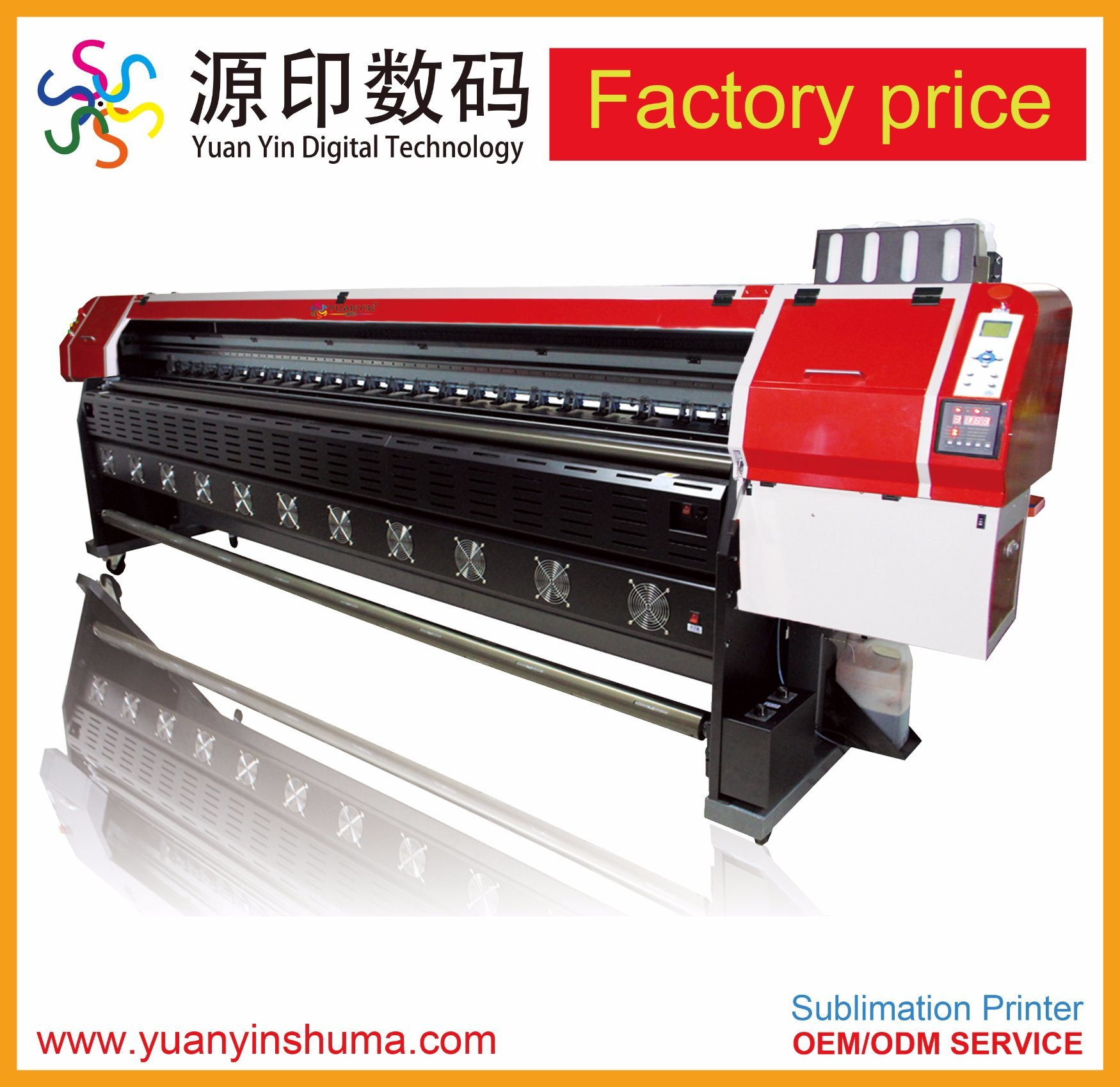 [Hot Item] Low Price Factory Supplier 1 8meter Width Textile Printer