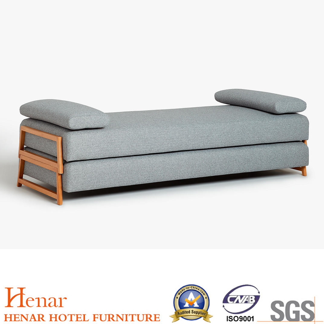 Hot Item 2019 Popular Solid Wood King Size Daybed Living Room Sofa Bed