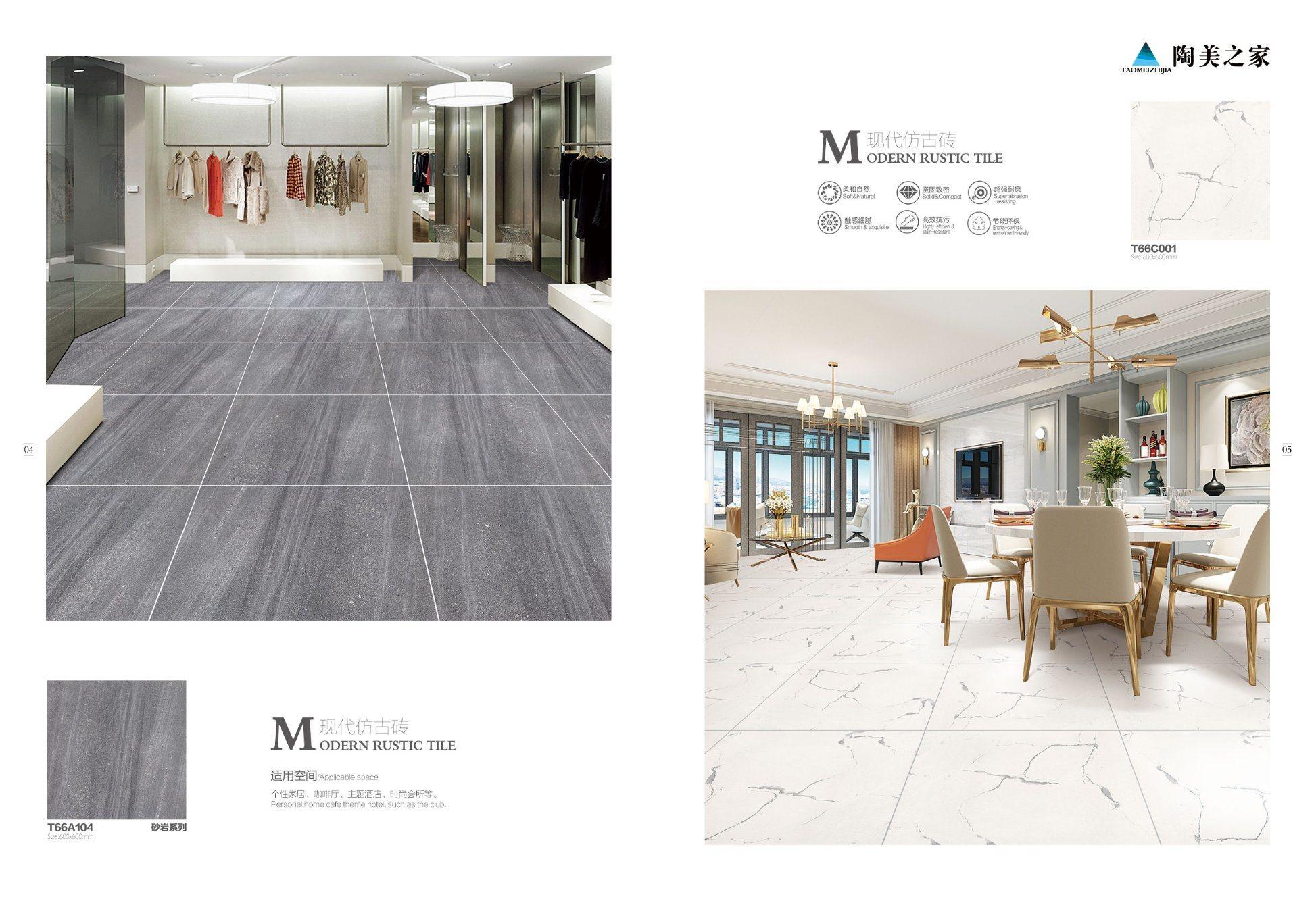 Hot Item 24 24 Non Slip Cement Porcelain Ceramic Tile For Floor Decorative