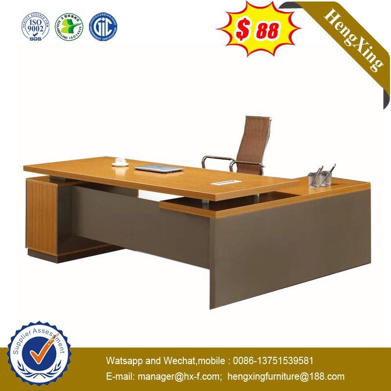 New Design School Project Furniture Mdf Wooden Executive Manager Office Desk Hx 9ny035