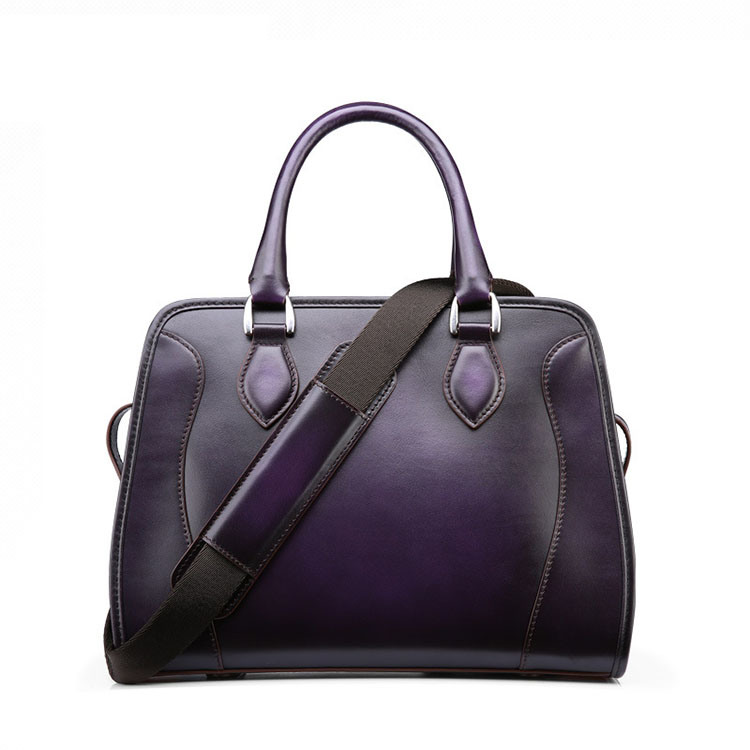 32846977d150 China 2017 New Design High End Custom Purple Leather Ladies Tote Bags Purse  - China Leather Ladies Bag, Leather Tote Bag