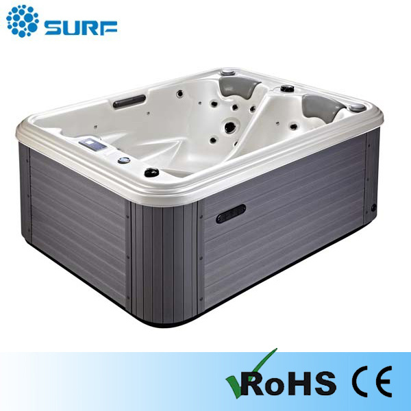 China jacuzzi function 2 person whirlpool small indoor - Whirlpool outdoor jacuzzi ...
