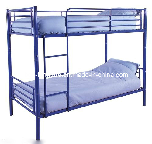 China Metal Steel Single Bunk Bed Colored Metal Bunk Bed China