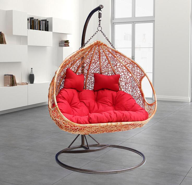 Excellent Hot Item Outdoor White Rattan Egg Swing Chair Theyellowbook Wood Chair Design Ideas Theyellowbookinfo
