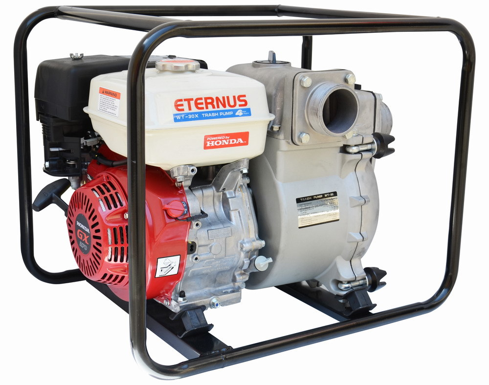 Honda Engine Gasoline (Petrol) Sludge Pump Wt30X