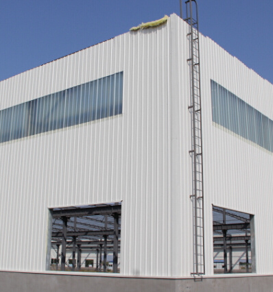 China Easy to Build Sandwich Panel Prefabricated Steel Frame ...
