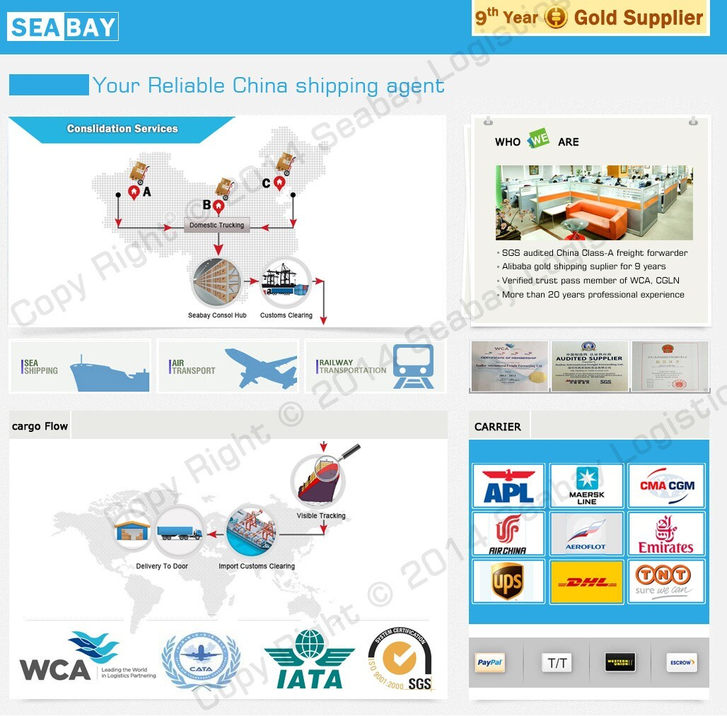 Warehouse Service Consolidation Service From China to USA