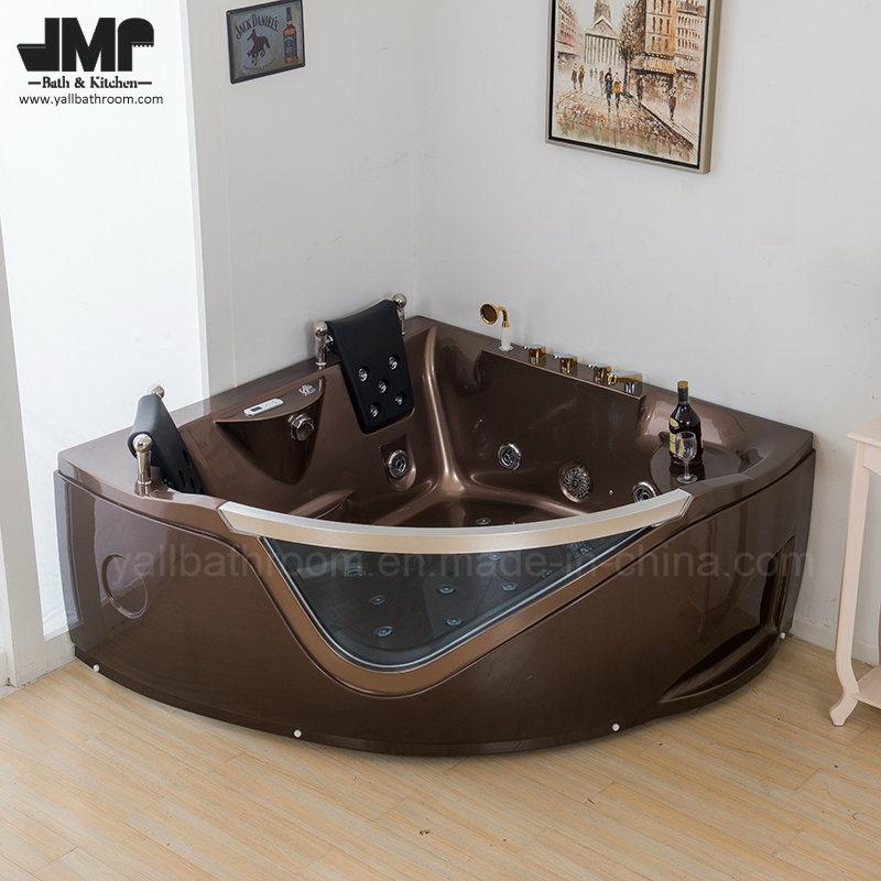 China 2719 Two People Acrylic Jacuzzi Whirlpool Bath Massage Tub ...