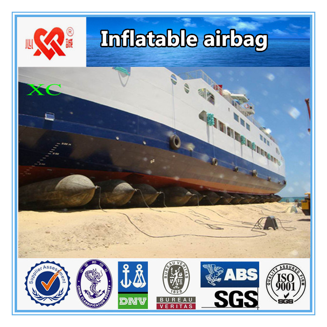 Marine Inflatable Rubber Ship Landing Airbag