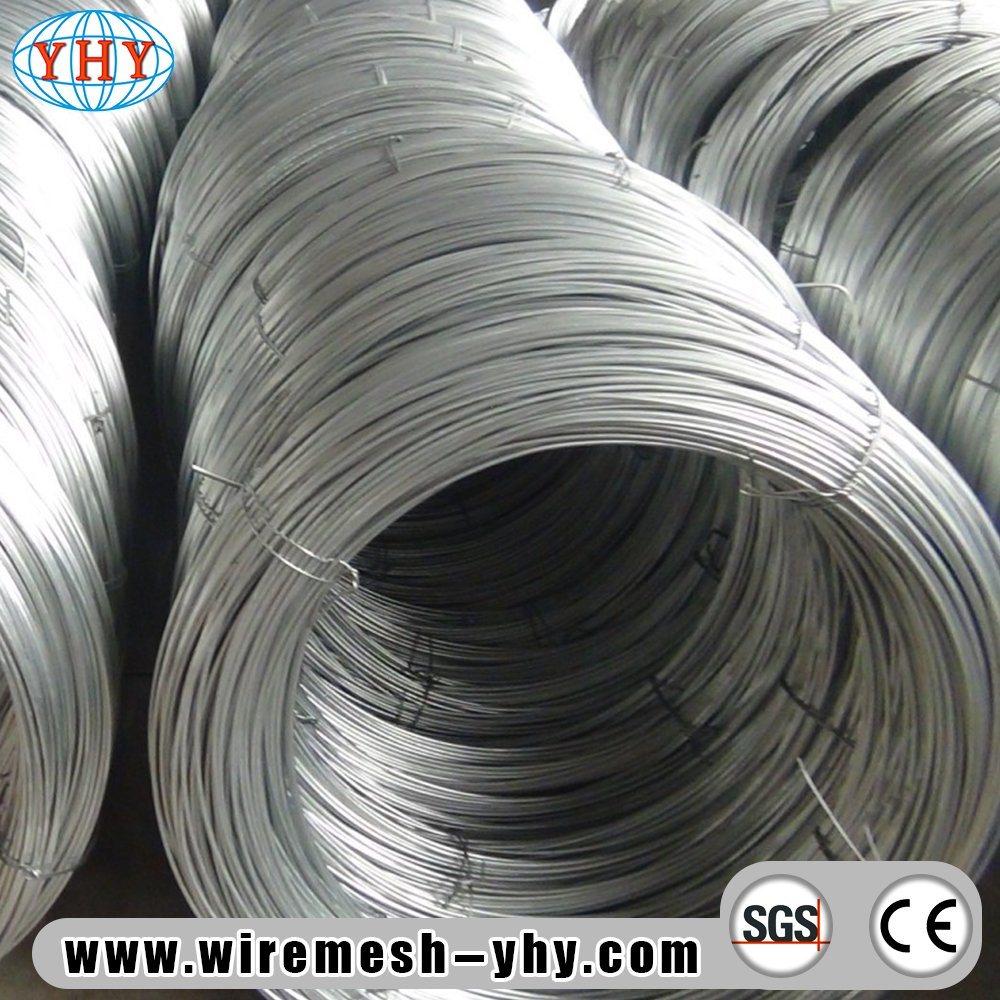 China 19 Gauge Low Carbon Galvanized Iron Wire - China Galvanized ...