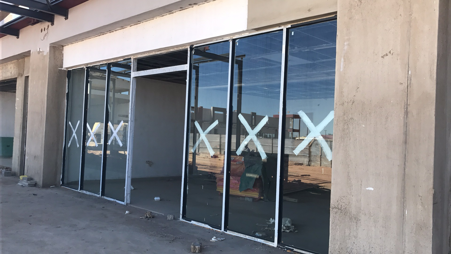 Storefront Windows And Doors [hot item] high quality double glazing aluminum sound proof aluminum  storefront door