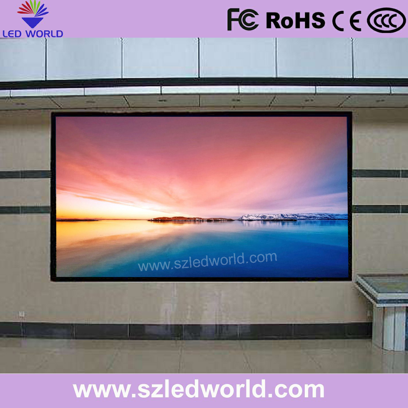 Hot Item Outdoor Indoor Led Display Panel Board Sign P5 P8 P10