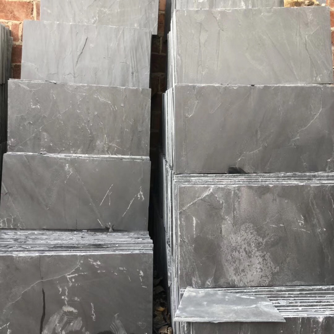 Natural Slate Stone Black/Green/Blue/Yellow/Rusty/White Slate for Roofing/Roof//Flooring/Floor/Wall Cladding/Paving Tile Culture Stone Slate Mosaic pictures & photos