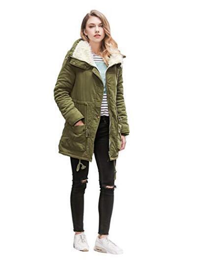 China Winter Coats For Women Plus Size, Long Faux Fur Lined Winter Coat
