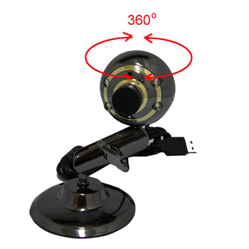 China Freeviewer 360 Degree Rotating Head Web Camera (CAM