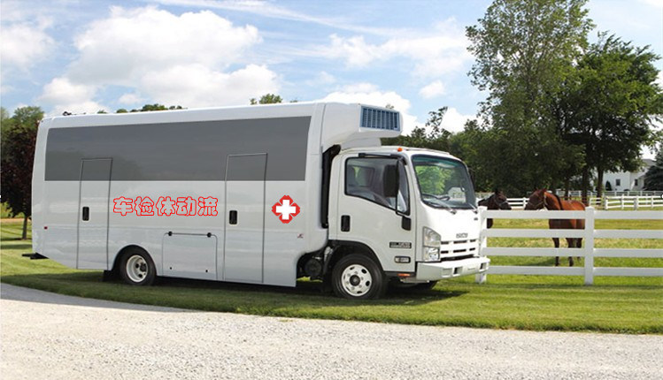 [Hot Item] New Type Mobile Medical Clinic Bus with Ce ISO