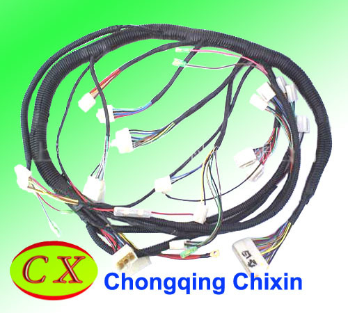 China Motorcycle Complete Wiring Harness