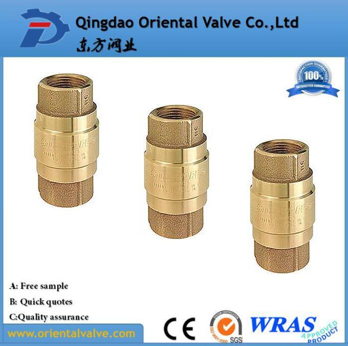 Brass Foot Valve Brass Non Return Valve 1 2 Inch Brass Check Valve pictures & photos