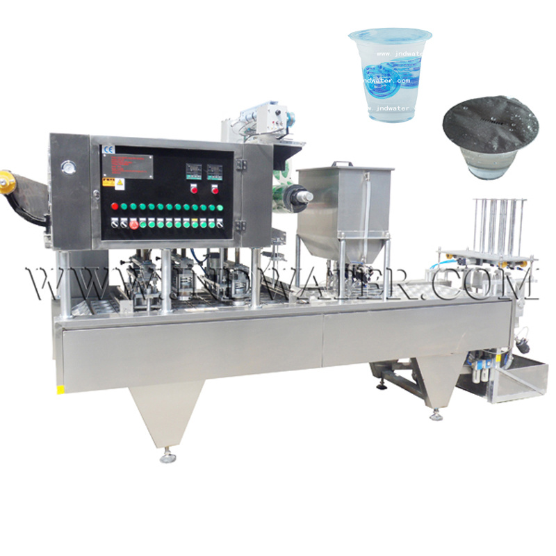 Automatic Cup Washing Filling and Sealing Machine (JND-10C) pictures & photos