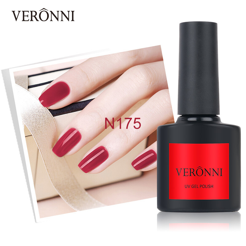 China New 2019 VERONNI 108 Colors Gel Nail Polish Nail Art Manicure ...