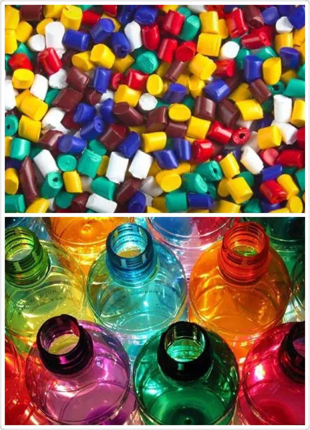 Color Masterbatch for PP Bag Plastic Raw Material LDPE Granules