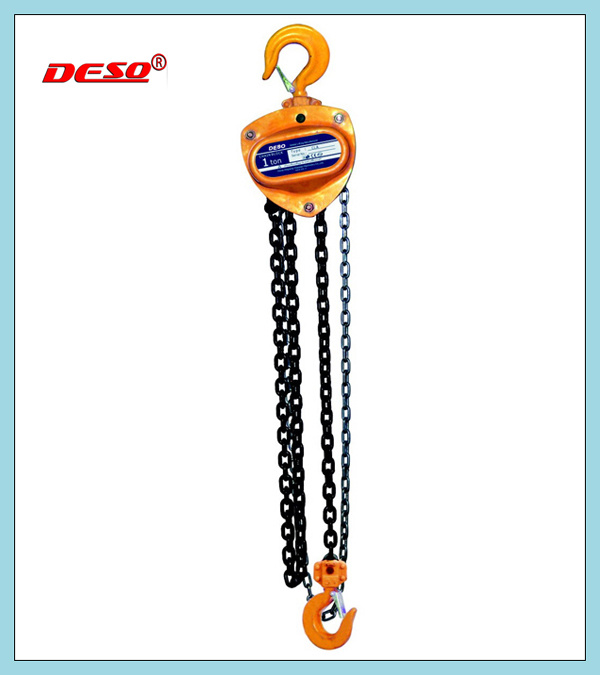 Durable Alloy Steel Chain Block Hoist pictures & photos