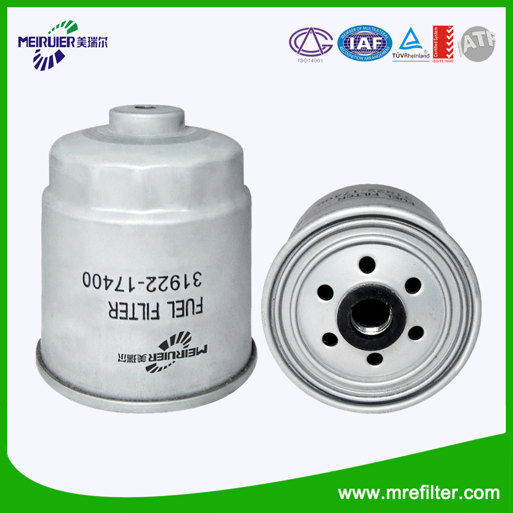 China Auto Fuel Filter 31922 17400 For Hyundai Car Filters