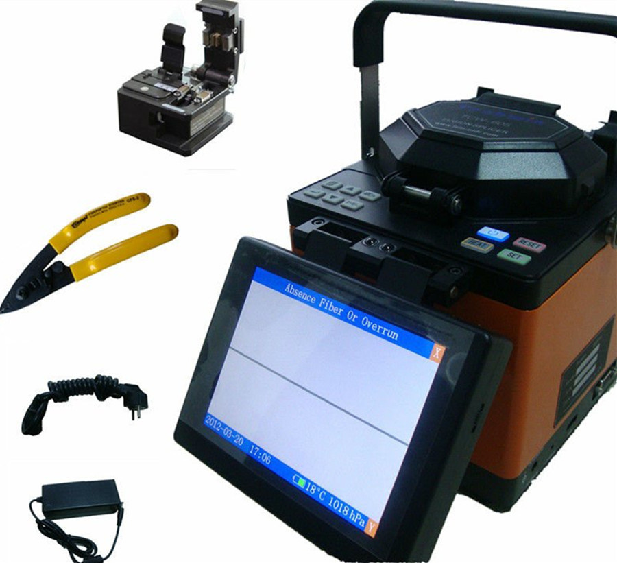 Splice Machine Digital Fiber Optical Fusion Splicer pictures & photos