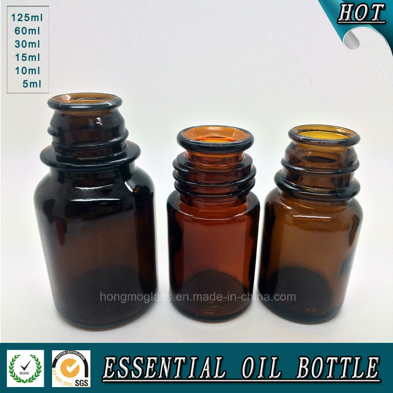 Brown Glass packaging Bottle for Essence Flavor