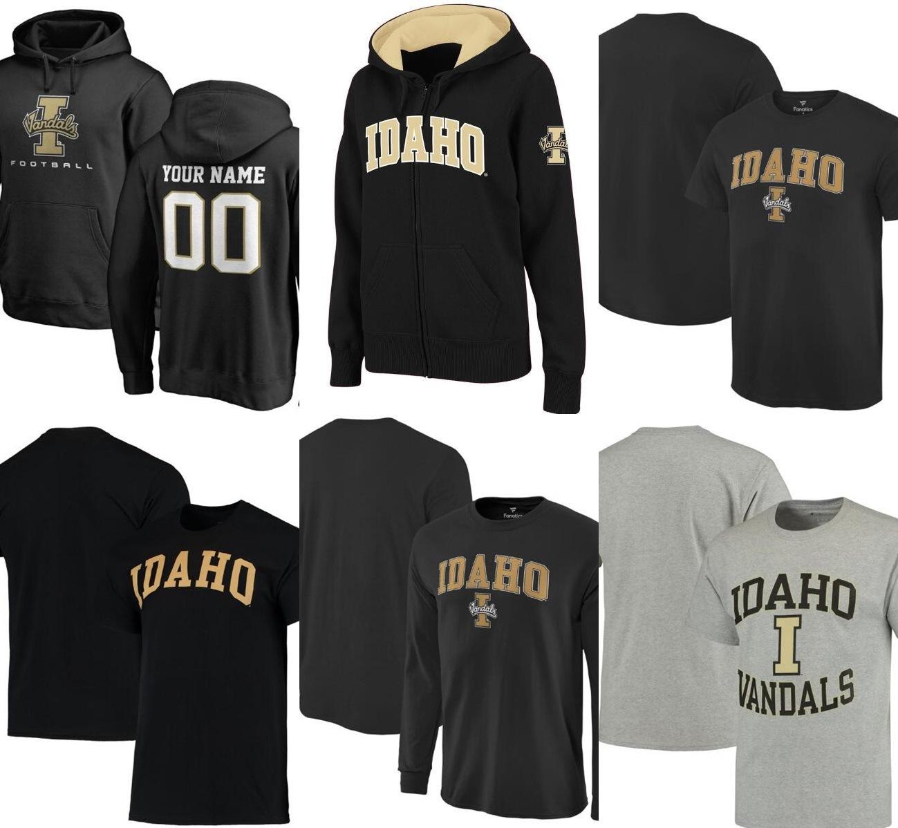 Idaho Vandals Black Basketball Jersey