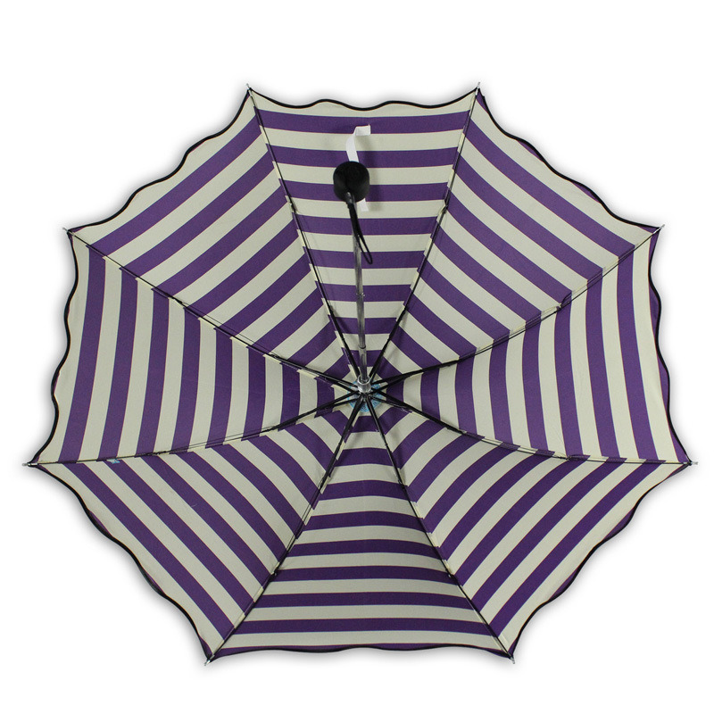 Beautiful Stripe Outdoor Beach Small Colourful Sun Umbrella pictures & photos